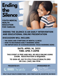 Ending The Silence: Youth Mental Illness Education for Families